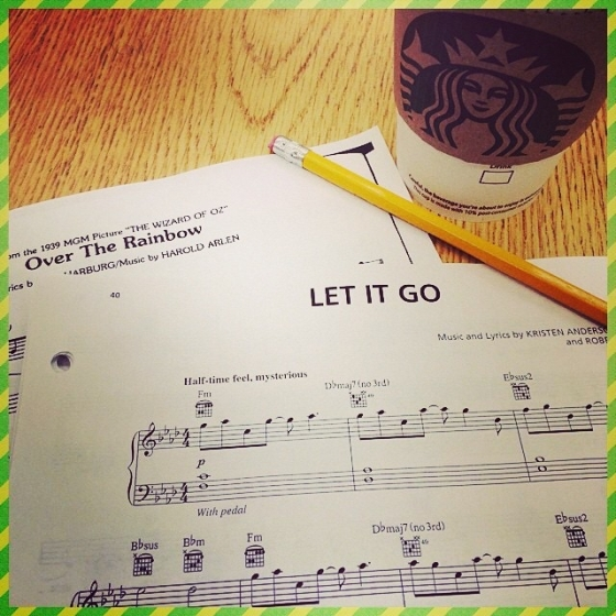 "It's hard not to think of ""Let It Go"".  What does the Frozen hit have that modern show tunes lack? Photo courtesy of: Jacob Brent"