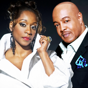 Peabo Byrson and Regina Belle's