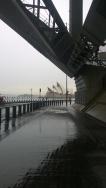 ...and underneath the iconic Sydney Harbour Bridge.