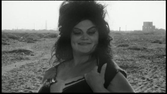 Eddra Gale as the original Saraghina in Fellini's 1963 film, 8 1/2.