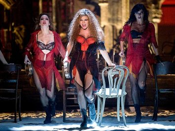 Fergie as Saraghina in the 2009 movie musical of Nine directed by Rob Marshall