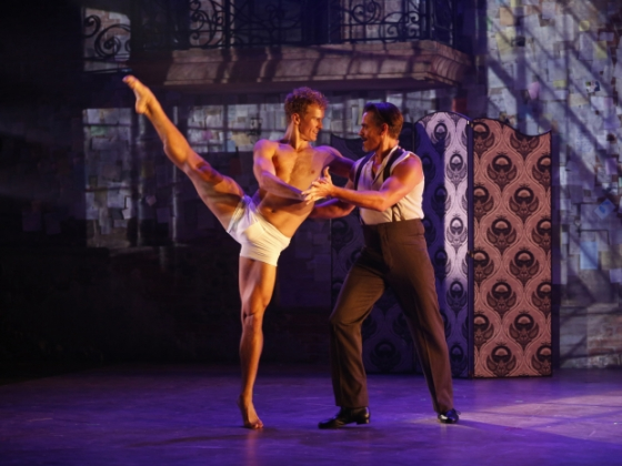 Ryan Steele and Jonathan Sharp share a scandalously beautiful dance in Douglas Carter Beane's