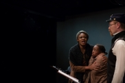 Tanika Baptiste, Cashae Monya, and Adam Cuppy. (Photo courtesy of Diversionary Theatre)