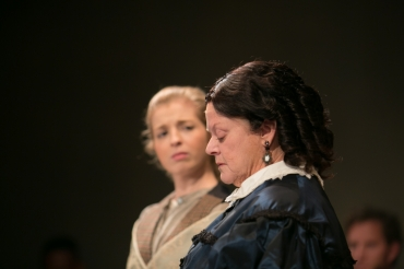 Julia Nardi-Loving and Annie Hinton. (Photo courtesy of Diversionary Theatre)