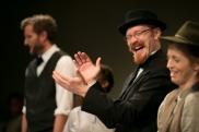 Skylar Sullivan, Adam Cuppy, and Julia Nardi-Loving. (Photo courtesy of Diversionary Theatre)